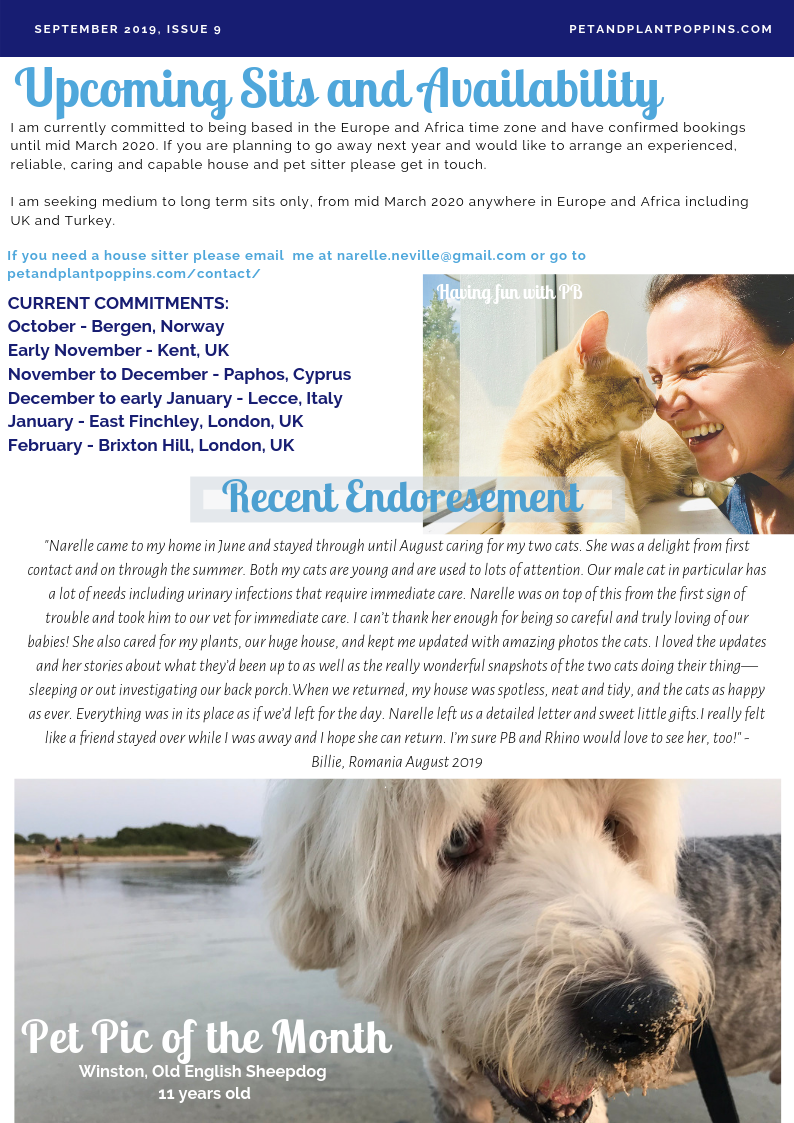 PPP Newsletter September 2019 page 2