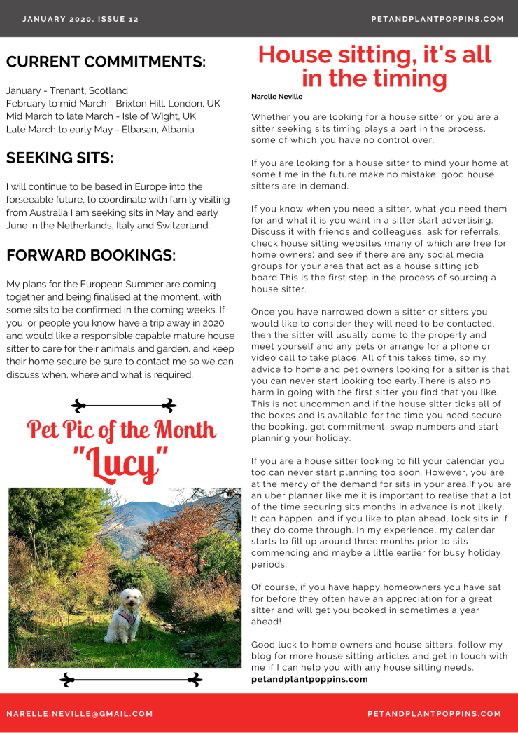 PPP Newsletter January 2020 page 2