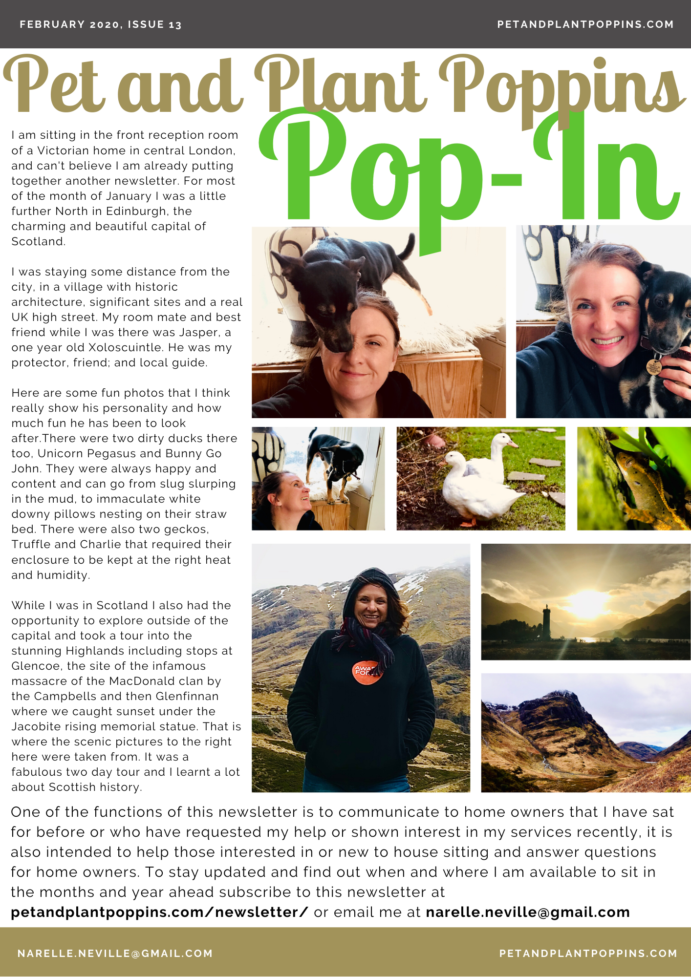 PPP Newsletter February 2020 page 1