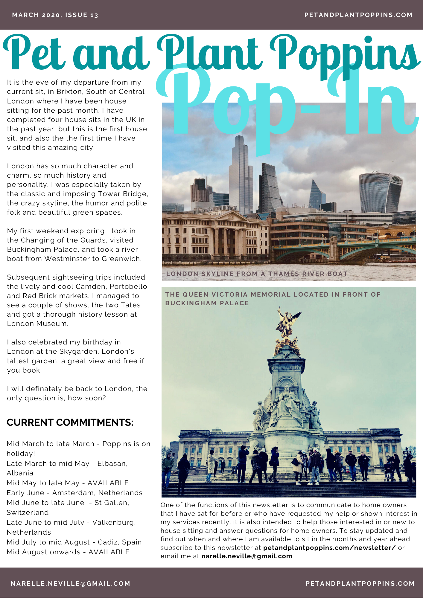 PPP Newsletter March 2020 page 1