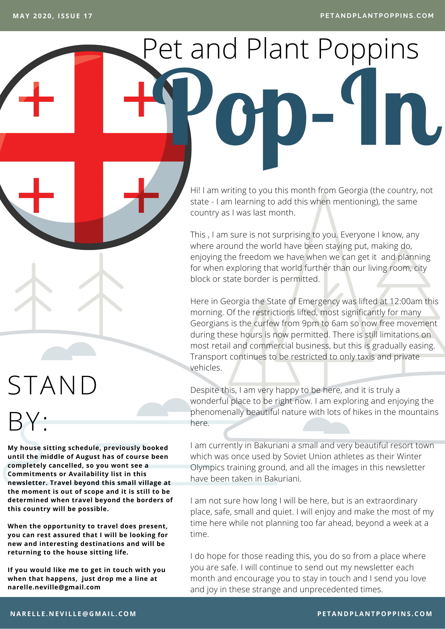 PPP Newsletter May 2020 page 1