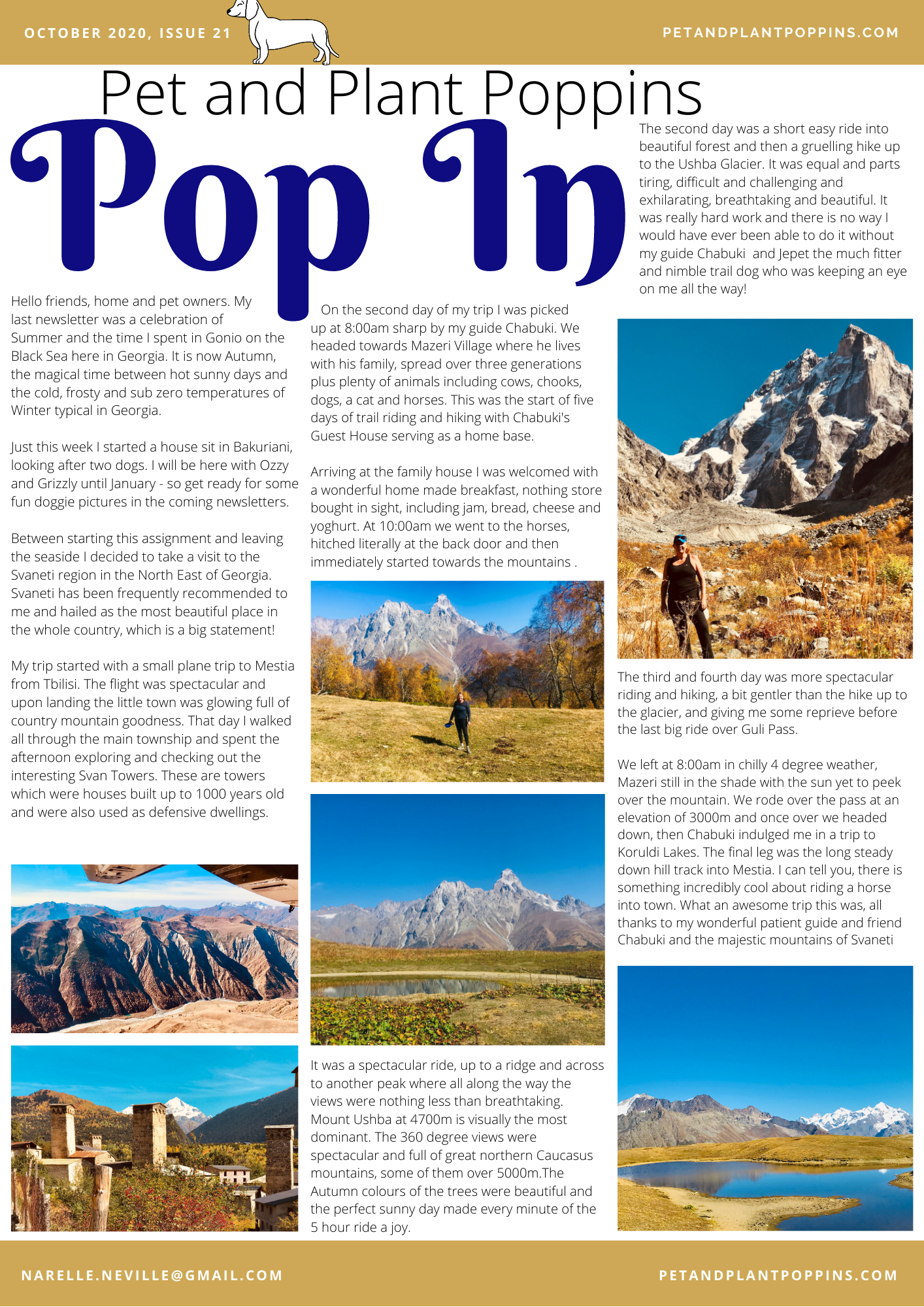 PPP Newsletter October 2020 page 1