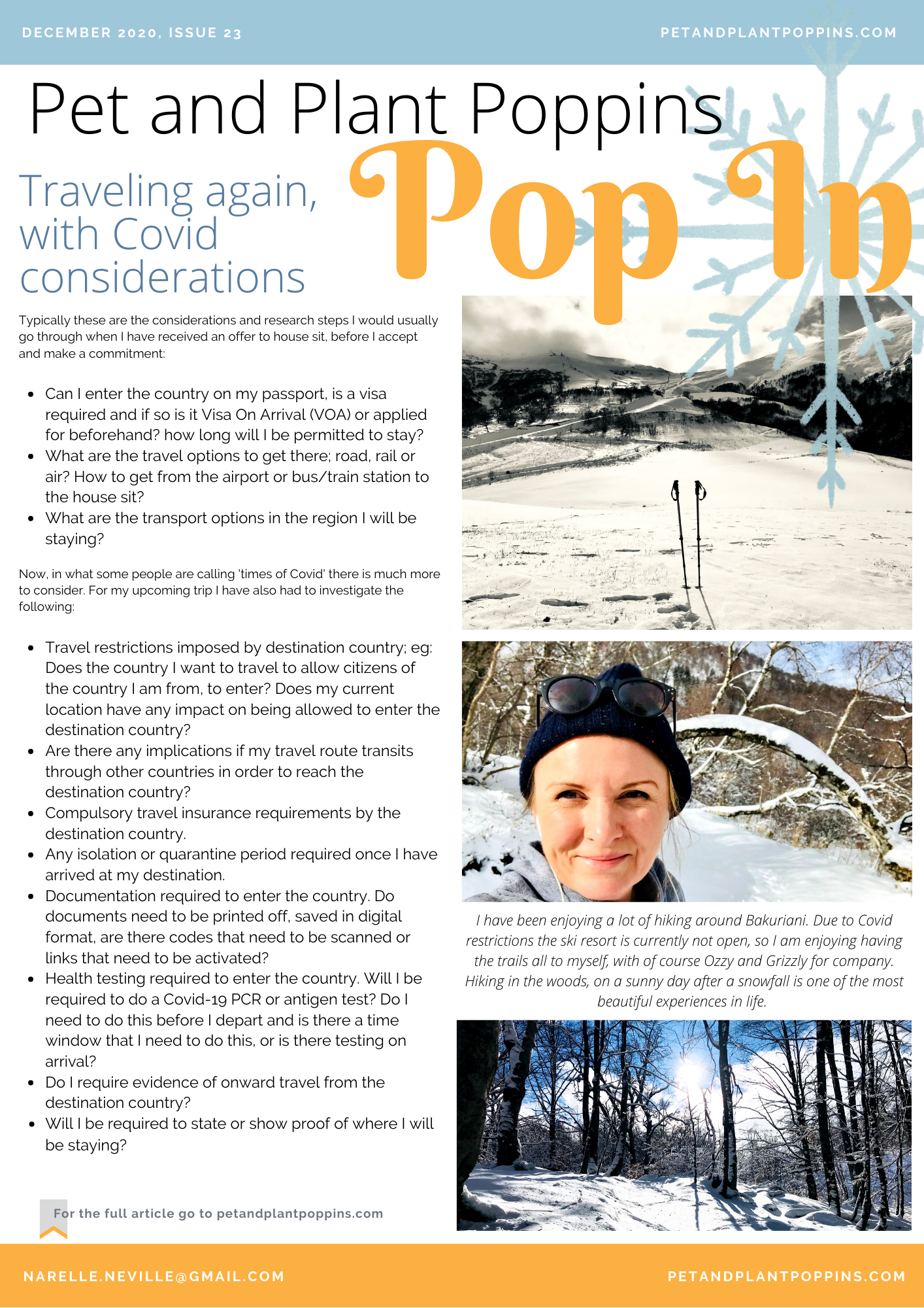 PPP Newsletter December 2020 page 1