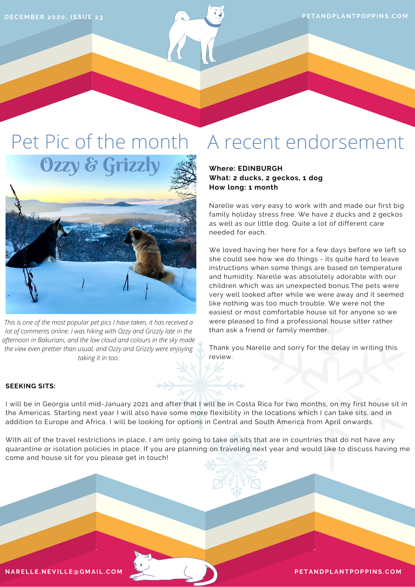 PPP Newsletter December 2020 page 2