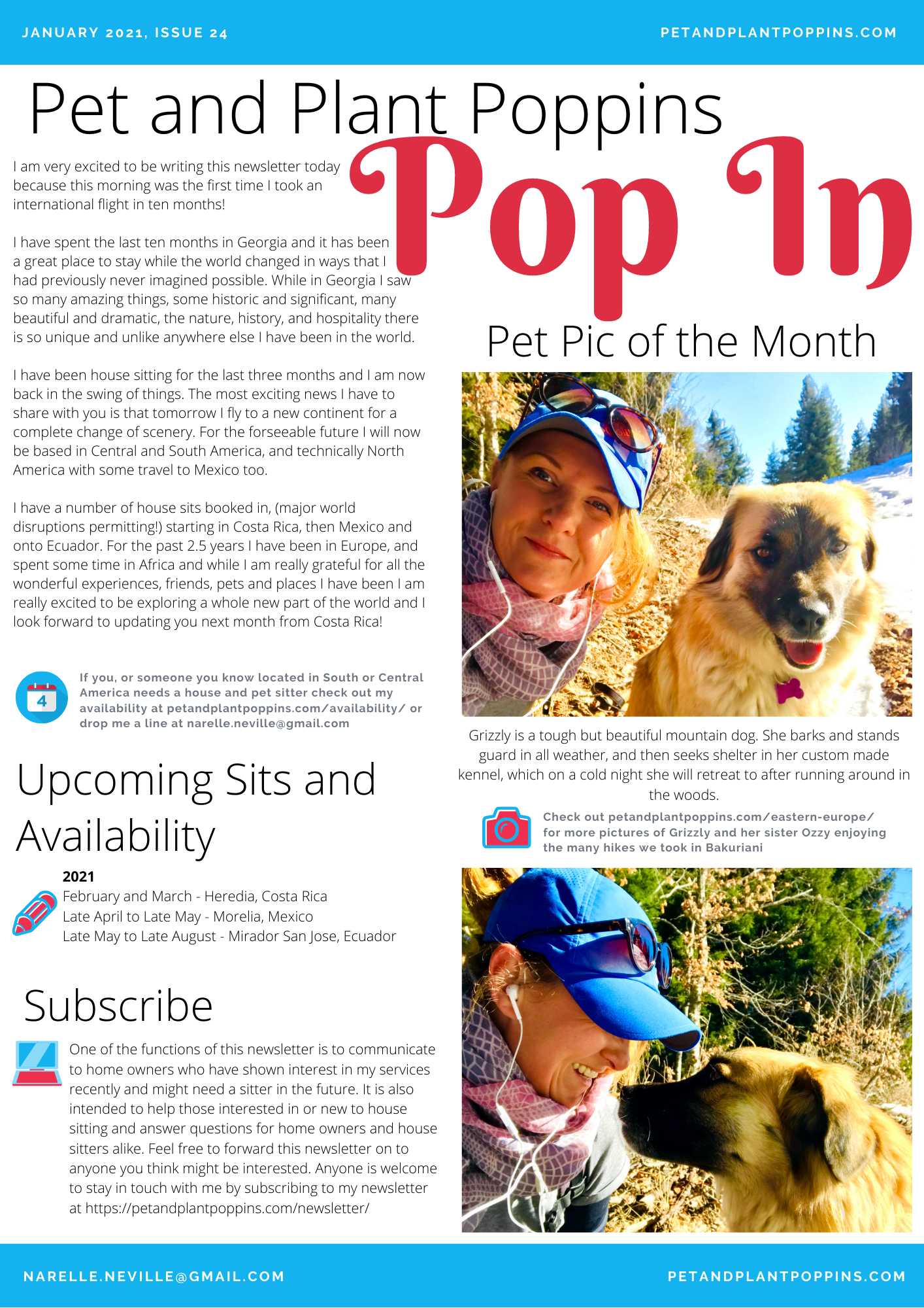 PPP Newsletter January 2021 page 1