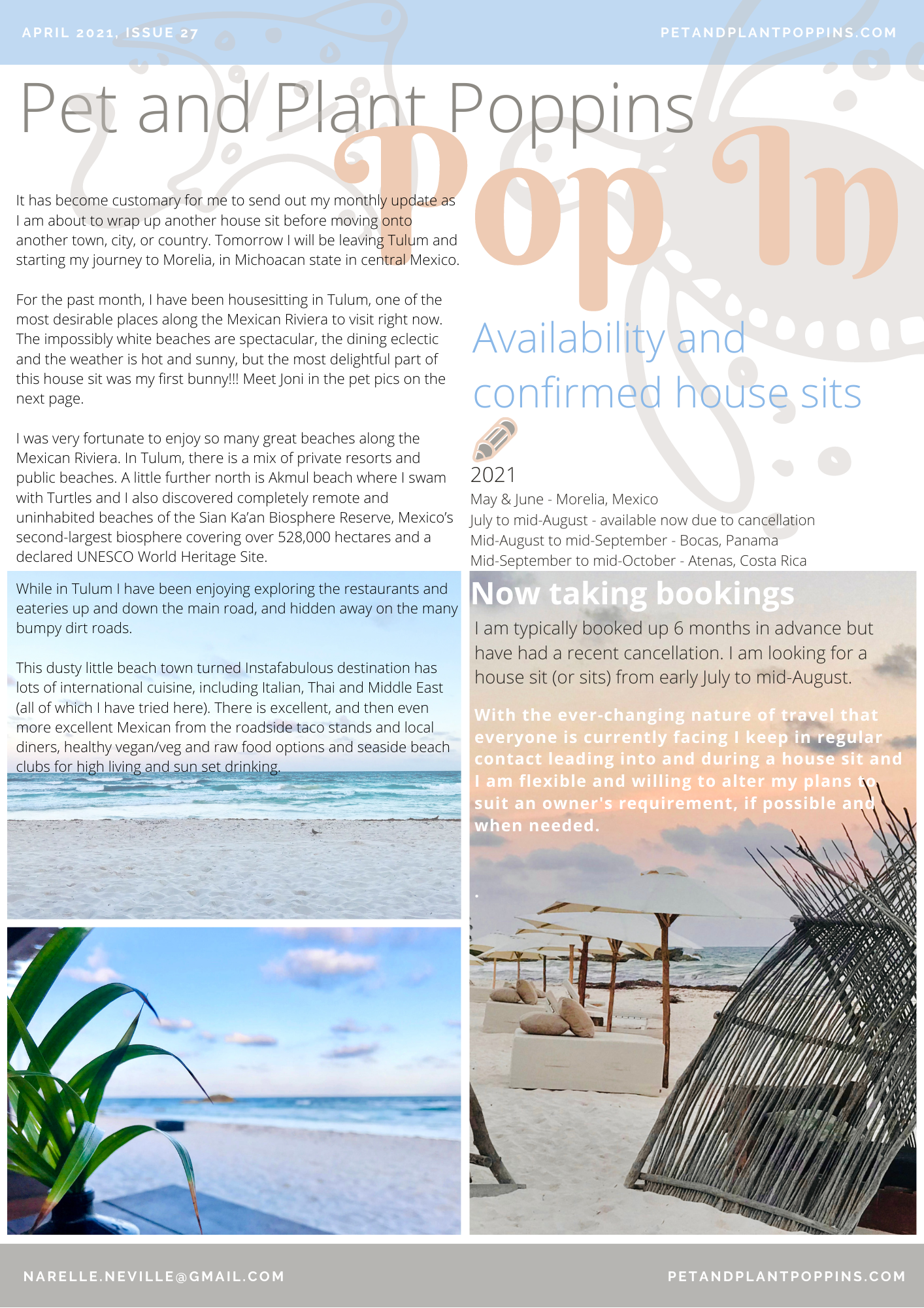 PPP Newsletter April 2021 page 1