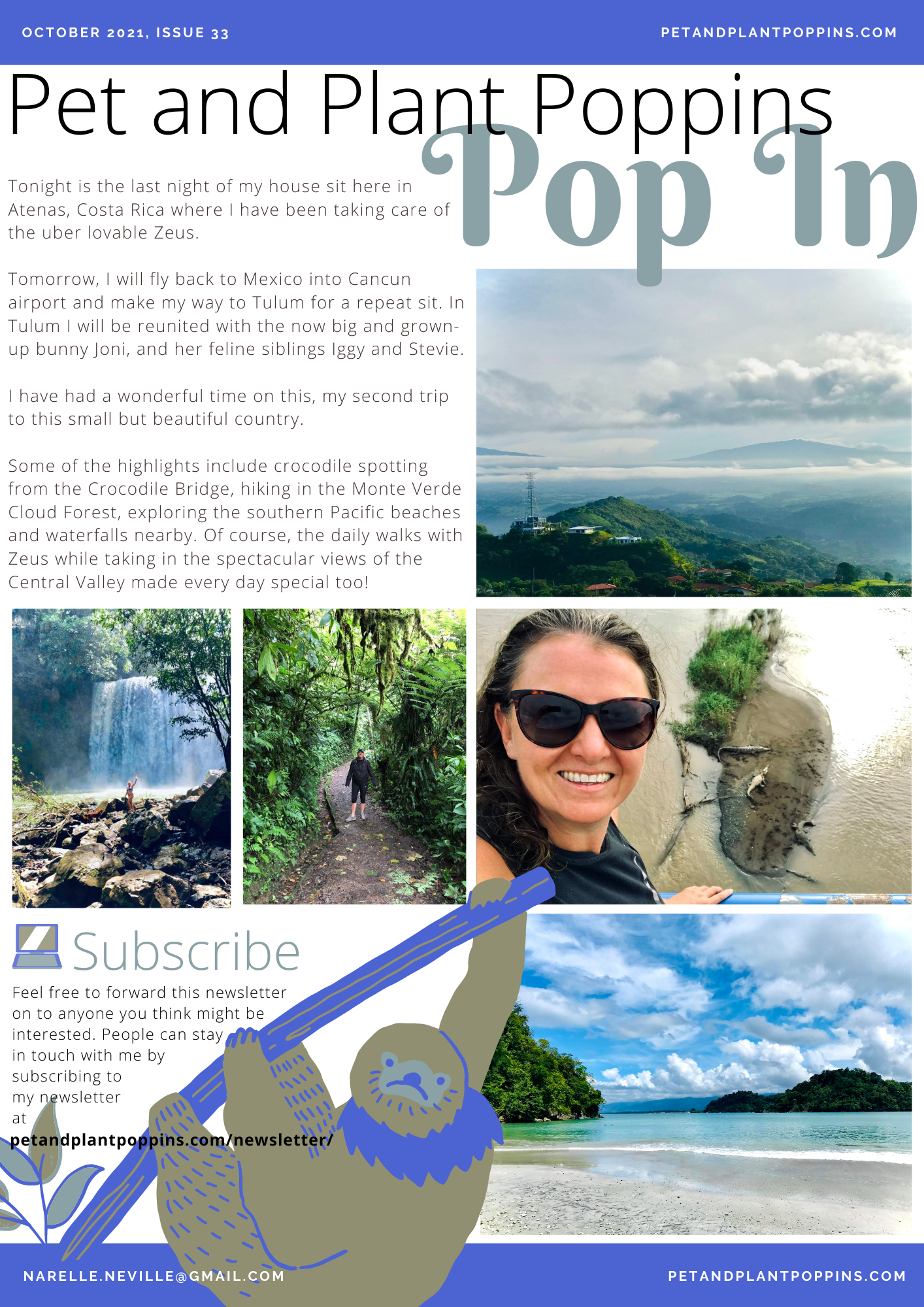 PPP Newsletter October 2021 page 1