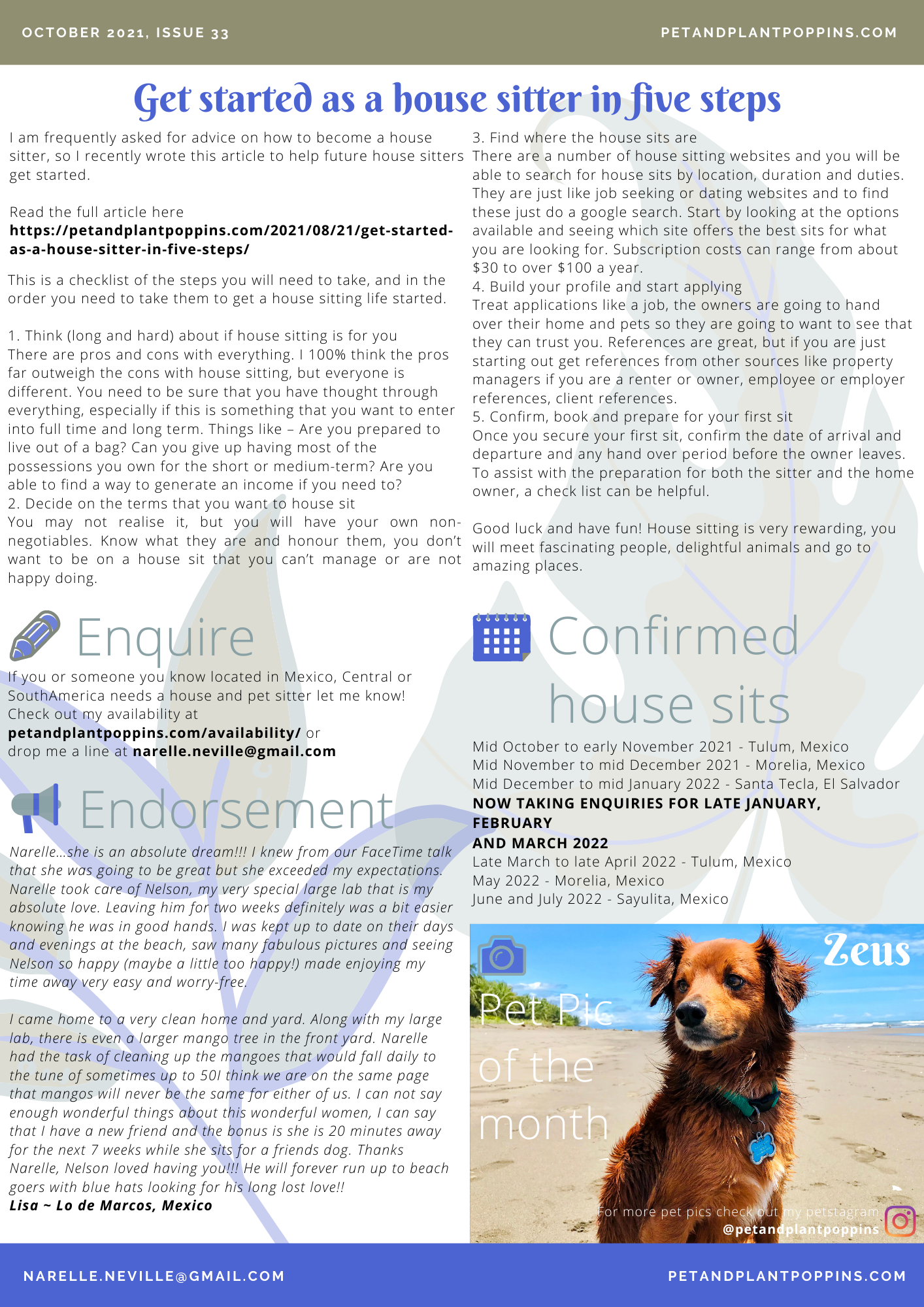PPP Newsletter October 2021 page 2